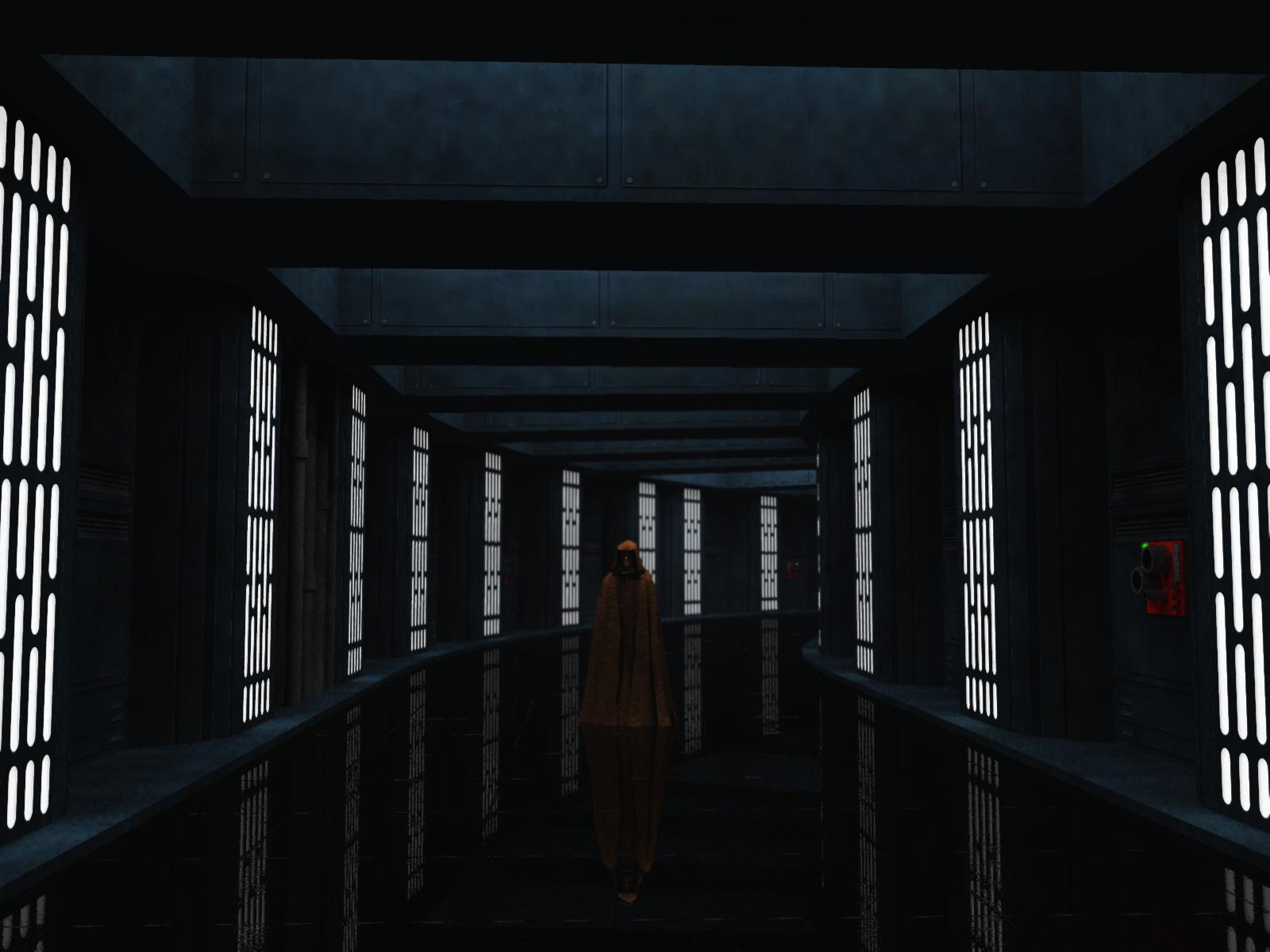 Death Star Corridor Vue 3d Models